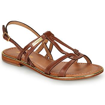 kengät Naiset Sandaalit ja avokkaat Les Tropéziennes par M Belarbi HACKLE Ruskea