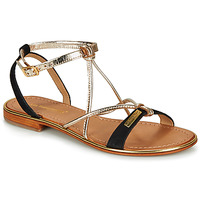 kengät Naiset Sandaalit ja avokkaat Les Tropéziennes par M Belarbi HIRONBUC Musta / Kulta