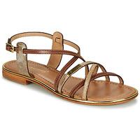 kengät Naiset Sandaalit ja avokkaat Les Tropéziennes par M Belarbi HARRY Kulta