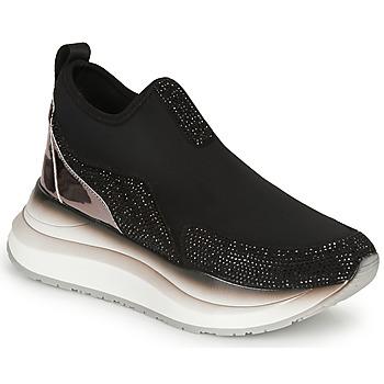 kengät Naiset Matalavartiset tennarit Café Noir MATELO Black