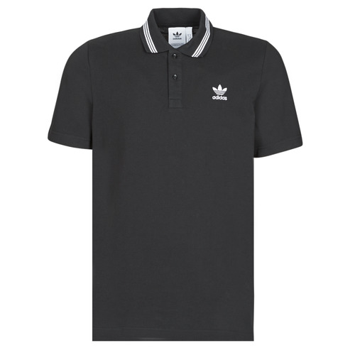 vaatteet Miehet Lyhythihainen poolopaita adidas Originals PIQUE POLO Black