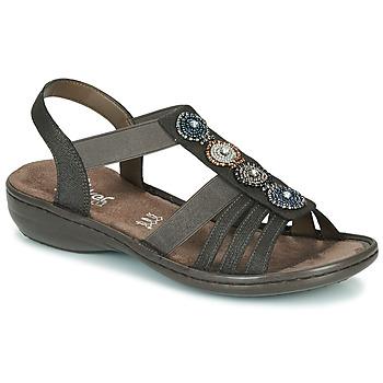 kengät Naiset Sandaalit ja avokkaat Rieker ANOUCK Black