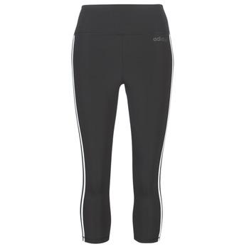 vaatteet Naiset Legginsit adidas Performance D2M 3S 34 TIG Black
