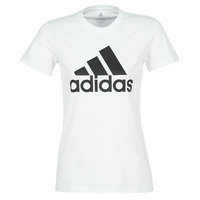 vaatteet Naiset Lyhythihainen t-paita adidas Performance BOS CO TEE Valkoinen
