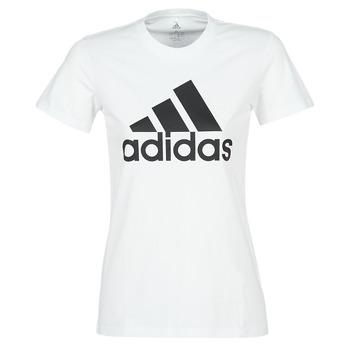 vaatteet Naiset Lyhythihainen t-paita adidas Performance BOS CO TEE White