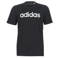 vaatteet Miehet Lyhythihainen t-paita adidas Performance E LIN TEE Black