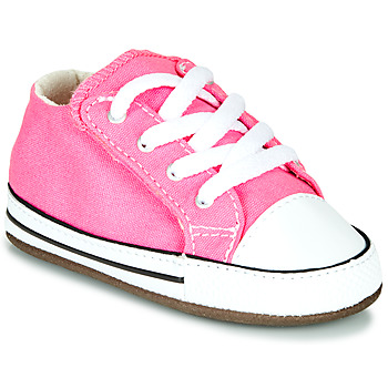 kengät Tytöt Korkeavartiset tennarit Converse CHUCK TAYLOR FIRST STAR CANVAS HI Pink