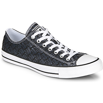 kengät Miehet Korkeavartiset tennarit Converse CHUCK TAYLOR ALL STAR LOGO PLAY Black