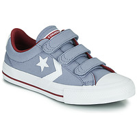 kengät Pojat Matalavartiset tennarit Converse STAR PLAYER 3V VARSITY CANVAS Grey