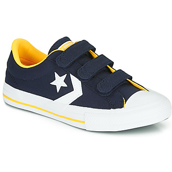 kengät Pojat Matalavartiset tennarit Converse STAR PLAYER 3V VARSITY CANVAS Blue