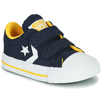 kengät Pojat Matalavartiset tennarit Converse STAR PLAYER 2V VARSITY CANVAS Blue