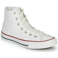 kengät Tytöt Korkeavartiset tennarit Converse CHUCK TAYLOR ALL STAR LITTLE MISS CHUCK White