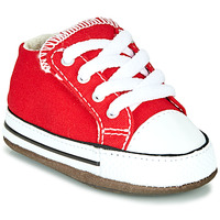 kengät Lapset Korkeavartiset tennarit Converse CHUCK TAYLOR ALL STAR CRIBSTER CANVAS COLOR Red