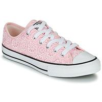 kengät Lapset Matalavartiset tennarit Converse CHUCK TAYLOR ALL STAR DAISY CROCHET Pink