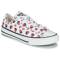 kengät Lapset Matalavartiset tennarit Converse CHUCK TAYLOR ALL STAR SPRING FRUITS White / Red