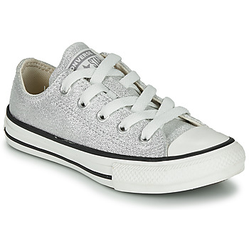 kengät Lapset Matalavartiset tennarit Converse CHUCK TAYLOR ALL STAR SUMMER SPARKLE Grey