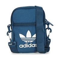 laukut Pikkulaukut adidas Originals FEST BAG TREF Blue / Laivastonsininen / Yö