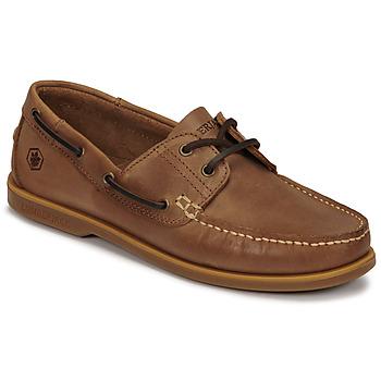 kengät Miehet Purjehduskengät Lumberjack NAVIGATOR Brown