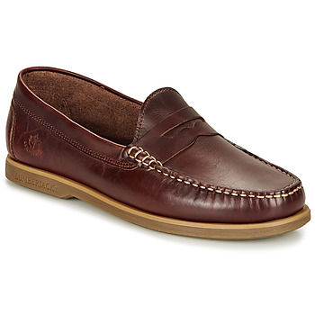 kengät Miehet Mokkasiinit Lumberjack NAVIGATOR Ruskea