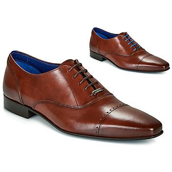 kengät Miehet Herrainkengät Azzaro DOGME Cognac