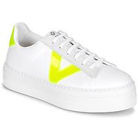 kengät Naiset Matalavartiset tennarit Victoria BARCELONA LONA White