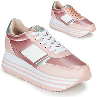 kengät Naiset Matalavartiset tennarit Victoria COMETA DOBLE METAL Pink