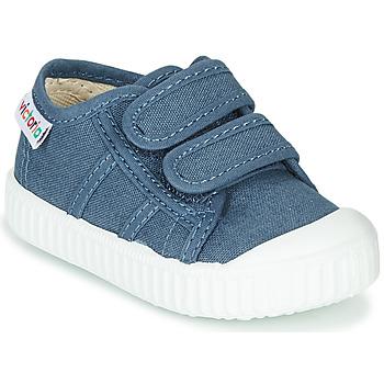 kengät Lapset Matalavartiset tennarit Victoria BASKET VELCRO Blue