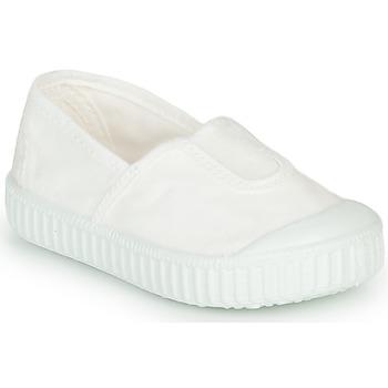 kengät Tytöt Matalavartiset tennarit Victoria CAMPING TINTADO White