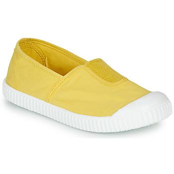 kengät Tytöt Matalavartiset tennarit Victoria CAMPING TINTADO Yellow
