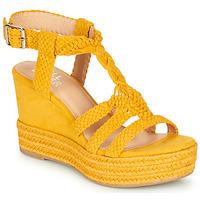 kengät Naiset Sandaalit ja avokkaat Bullboxer 175018F2T Yellow