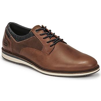 kengät Miehet Derby-kengät Bullboxer THOMAS Brown