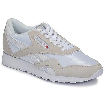 kengät Matalavartiset tennarit Reebok Classic CL NYLON White / Beige