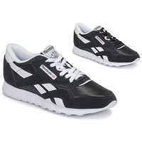 kengät Naiset Matalavartiset tennarit Reebok Classic CL NYLON Black