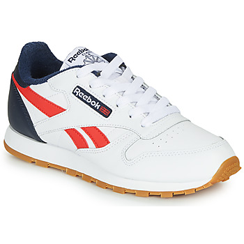 kengät Pojat Matalavartiset tennarit Reebok Classic CLASSIC LEATHER White