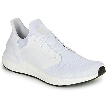 kengät Miehet Juoksukengät / Trail-kengät adidas Performance ULTRABOOST 20 White