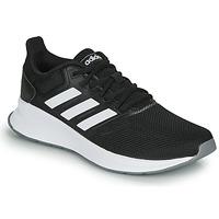 kengät Naiset Juoksukengät / Trail-kengät adidas Performance RUNFALCON Black / White