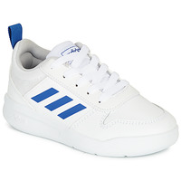kengät Pojat Matalavartiset tennarit adidas Performance TENSAUR K White / Blue