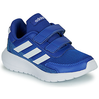 kengät Pojat Matalavartiset tennarit adidas Performance TENSAUR RUN C Blue / White