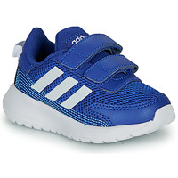 kengät Pojat Matalavartiset tennarit adidas Performance TENSAUR RUN I Blue / White