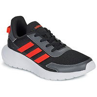 kengät Pojat Matalavartiset tennarit adidas Performance TENSAUR RUN K Black / Red