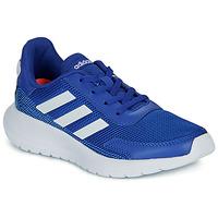 kengät Pojat Matalavartiset tennarit adidas Performance TENSAUR RUN K Blue / White