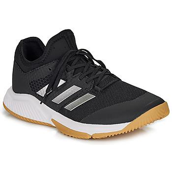 kengät Miehet Sisäurheilukengät adidas Performance COURT TEAM BOUNCE M Musta / Valkoinen