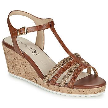 kengät Naiset Sandaalit ja avokkaat Caprice POUDALLE Cognac