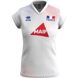 vaatteet Naiset Lyhythihainen t-paita Errea Maillot femme extérieur Equipe de france 2020 blanc