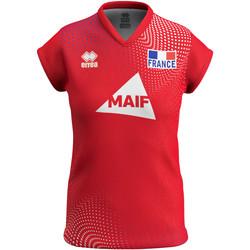 vaatteet Naiset Lyhythihainen t-paita Errea Maillot femme third Equipe de france 2020 rouge