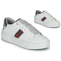 kengät Naiset Matalavartiset tennarit Dockers by Gerli 46BK204-591 White