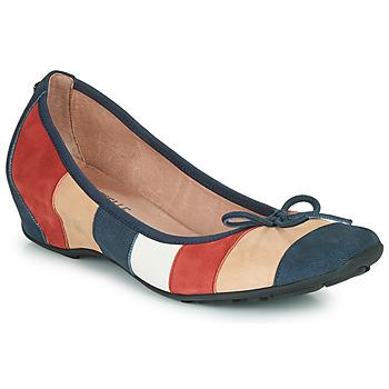 kengät Naiset Balleriinat Mam'Zelle FLUTE Blue / Beige / Bordeaux