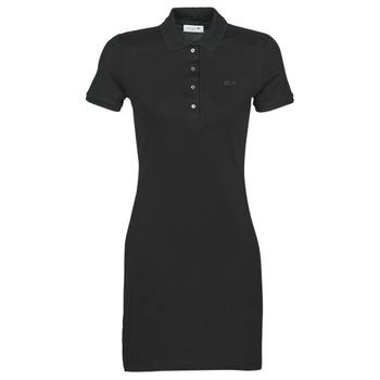 vaatteet Naiset Lyhyt mekko Lacoste GAIL Black