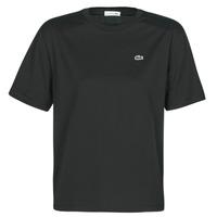 vaatteet Naiset Lyhythihainen t-paita Lacoste BERNARD Black