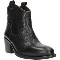 kengät Naiset Nilkkurit Exton MZ40 Black